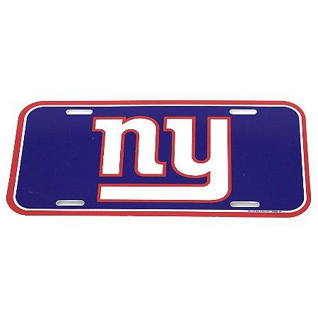 Placa Decorativa New York Giants