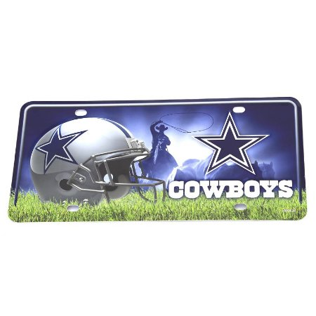 Placa Decorativa Dallas Cowboys