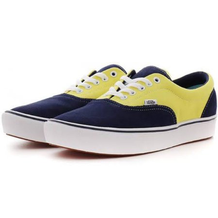 Tênis Vans Comfycush Era Yellow & Navy