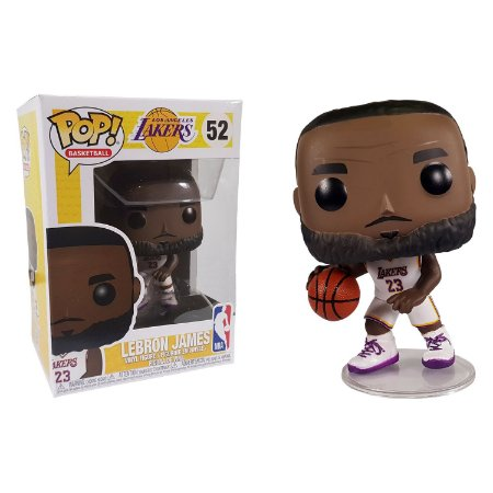 Funko Pop! NBA LeBron James: Los Angeles Lakers #52