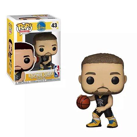 Funko Pop! NBA Stephen Curry: Golden State Warriors #43