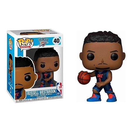 Funko Pop! NBA Russell Westbrook: Oklahoma City Thunder #40