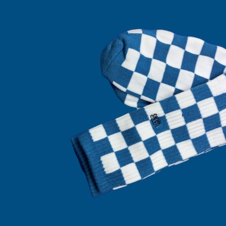 Meia Vans Crew - Blue - The ONE