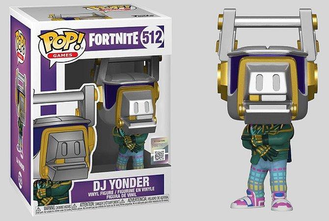 Funko POP! Fortnite: Dj Yonder #512
