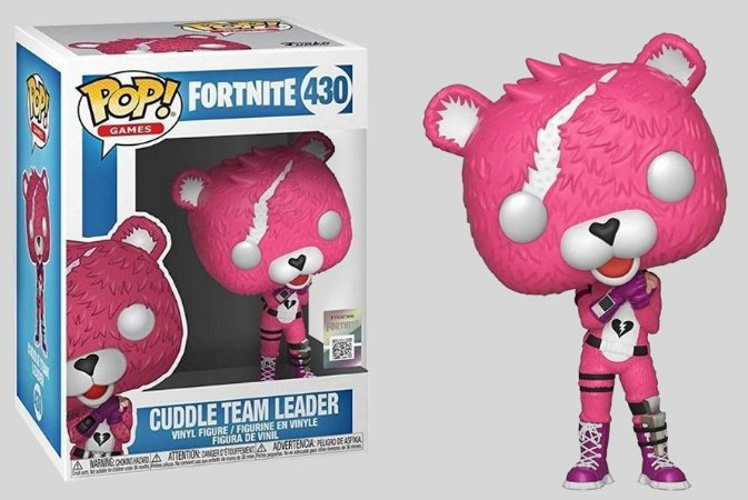 Funko POP! Fortnite: Cuddle Team Leader #430