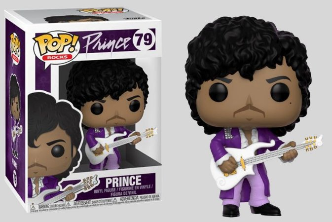 Funko POP! Prince - Purple Rain #79