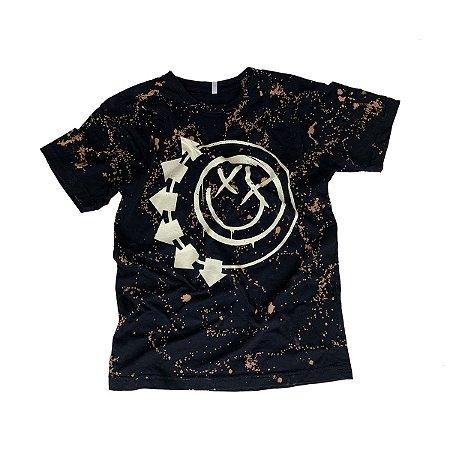 Camiseta BLINK-182 Smiley #001 Tamanho P