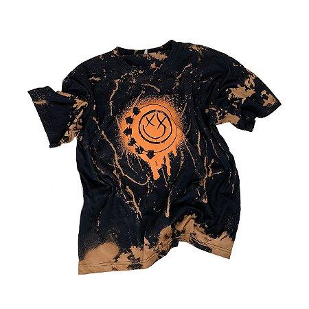 Camiseta BLINK-182 Smile Painted #007 - Tamanho GG