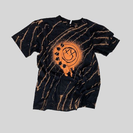 Camiseta BLINK-182 Smile Painted #003 - Tamanho M