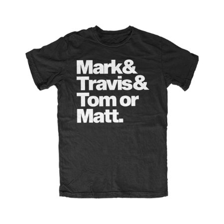 Camiseta BLINK-182 Dream Team - Black