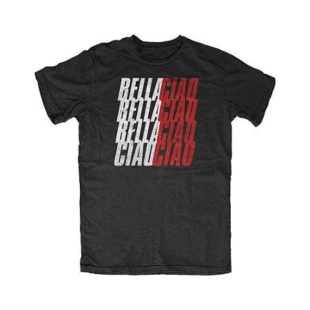 Camiseta La Casa de Papel Bella Ciao Bella Ciao
