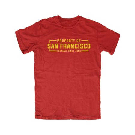 Camiseta PROGear Property Of San Francisco