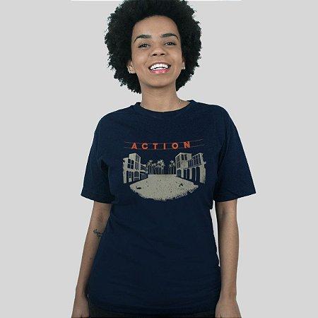 Camiseta Action Clothing Venice Azul Marinho