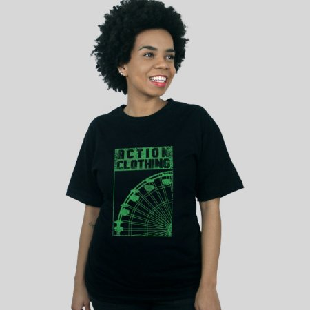 Camiseta Action Clothing Ferris Preta