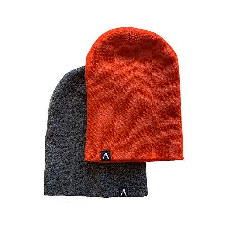 Kit Gorro Action Clothing Chumbo + Coral