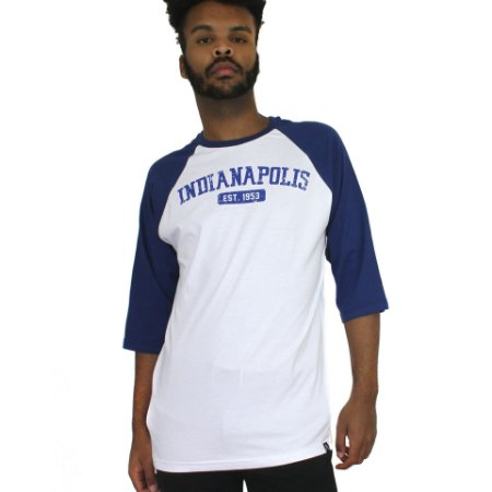 Raglan Profootball Indianapolis Branco/Azul