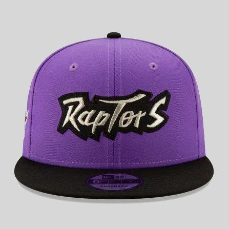 Boné New Era Toront Raptors NBA