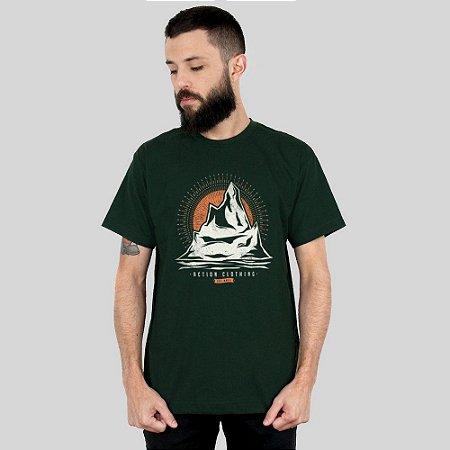 Camiseta Action Clothing Everest Musgo