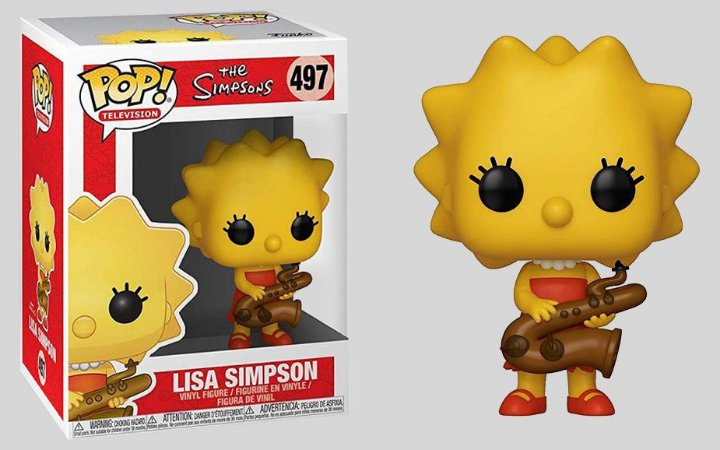 Funko Pop! The Simpsons - Lisa #497
