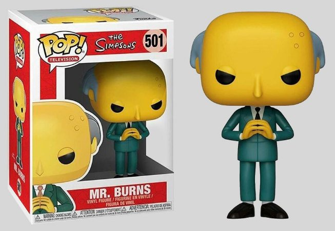 Funko Pop! The Simpsons - Mr. Burns #501