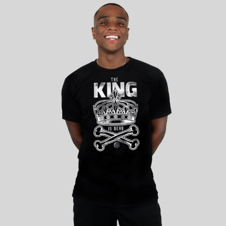 Camiseta Bleed King Is Dead Preta