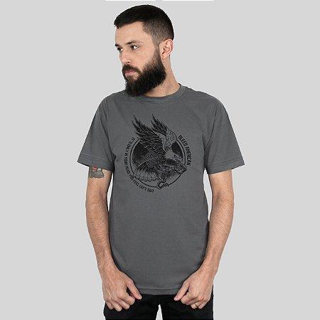 Camiseta Bleed Eagle Chumbo