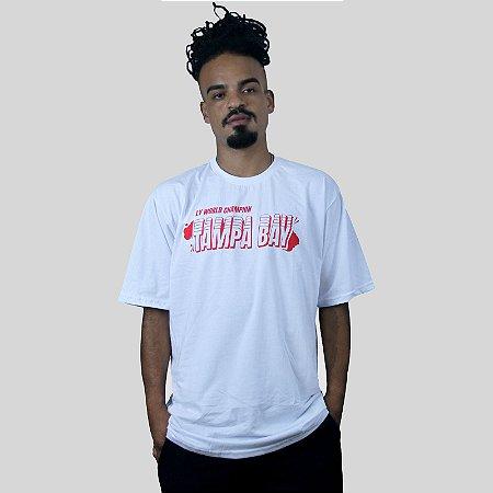 Camiseta The Fumble Champs Tampa Bay Branco