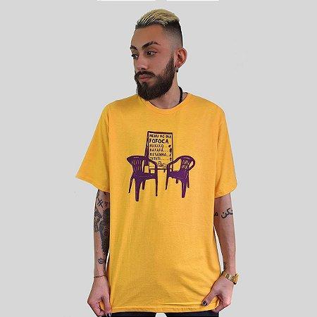 Camiseta Quimera Boteco Amarela