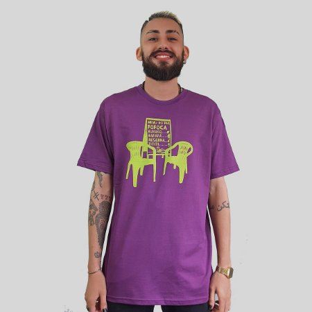 Camiseta Quimera Boteco Roxa