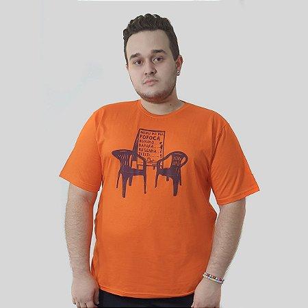 Camiseta Quimera Boteco Laranja
