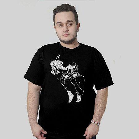Camiseta Quimera Folhetim Preta