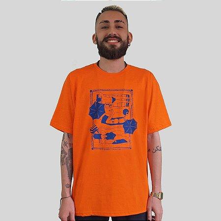 Camiseta Quimera Beira Mar Laranja