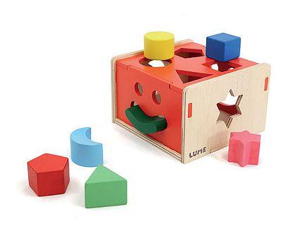 Brinquedo de Encaixar Formas - Encaixa na Caixa