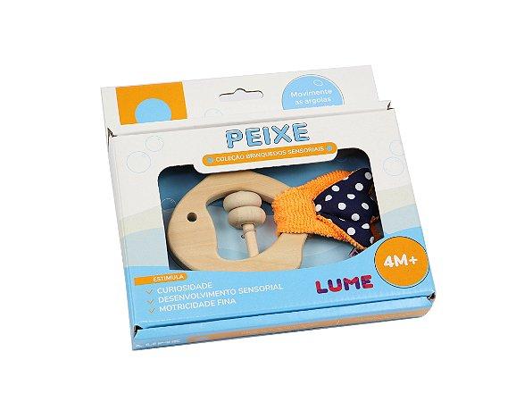 Brinquedo Peixe Sensorial - Lume