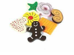 Kit Docinhos Brinquedo em Madeira - Coleção Comidinhas Newart