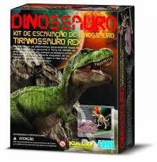 Brinquedo Escavação de Dinossauro - Tiranossauro Rex da 4M