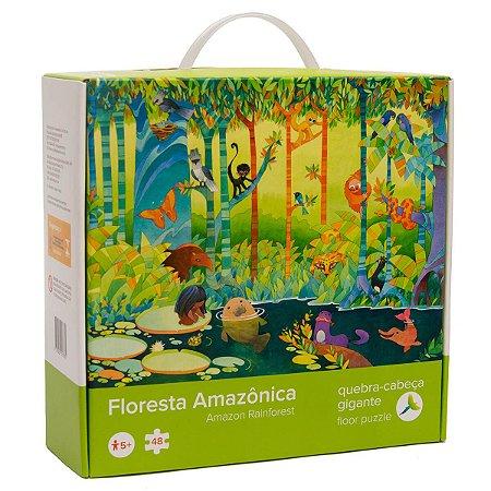 Quebra-cabeça Floresta Amazônica - Araquarela