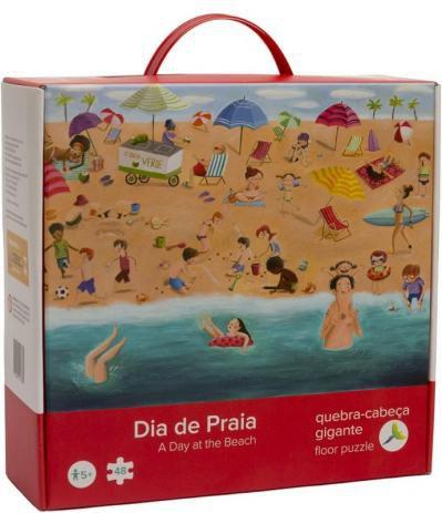Quebra-cabeça Dia de Praia - Araquarela
