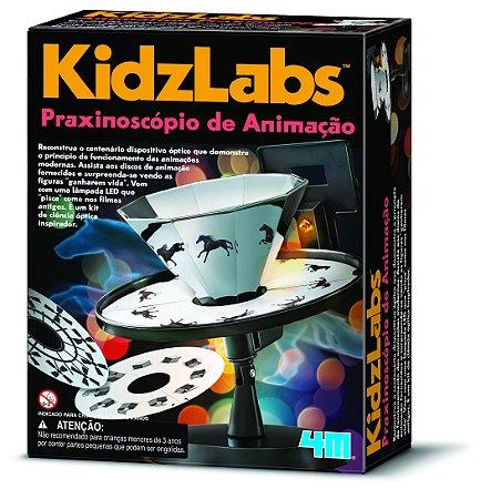 Praxinoscópio de Animação - Kit de Ciências - Animação