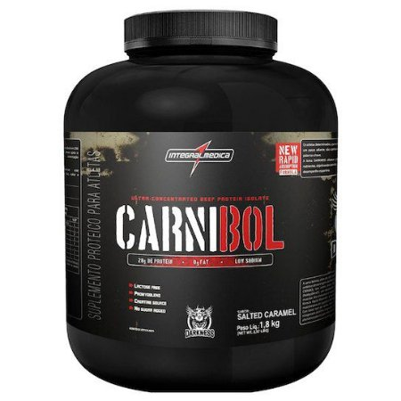 Whey Protein Carnibol 1,8Kg - Caramelo - Darkness -