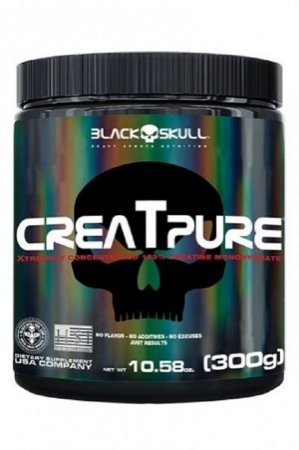 Creatpure 300g Black Skull