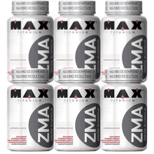 Combo 6x Zma Testosterona - 90 Capsulas Max vc 08/2020
