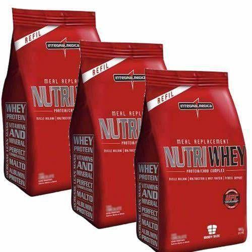 Combo 3 - Nutri Whey Protein - Refil  907g - Integralmédica