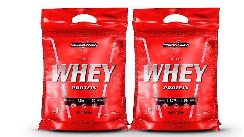Combo 2 - Nutri Whey Protein - 900g Refil - Integralmédica