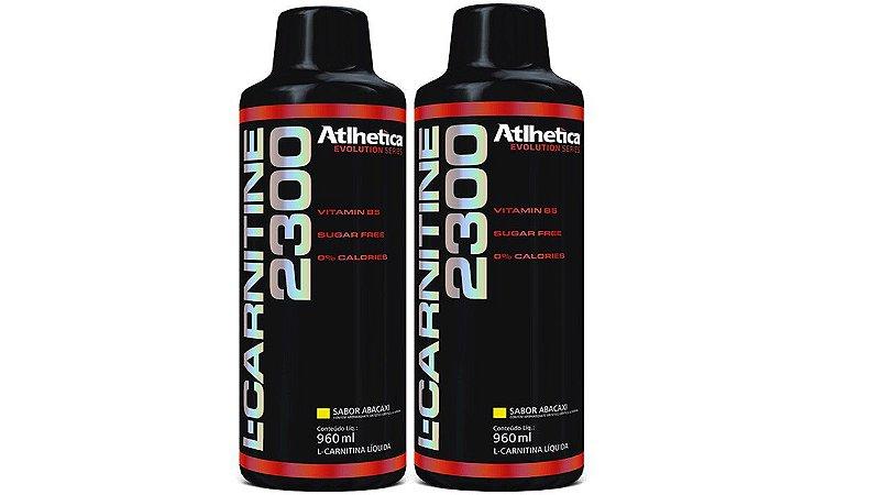 2x L Carnitina 2300 Liquida - Athlética 960 Ml
