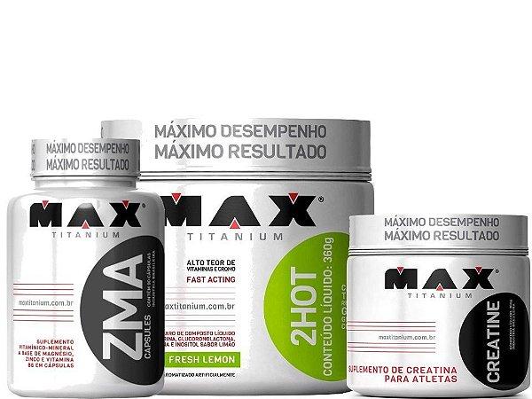 Ultimate 2hot Creatina Zma  - Max Titanium -