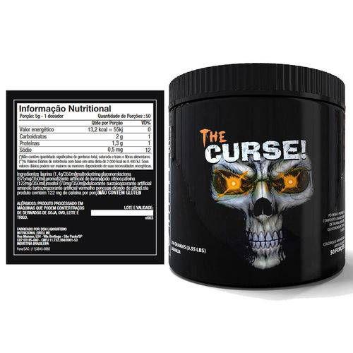 PRÉ TREINO The Curse! - 250g - Cobra Labs