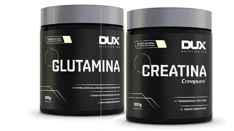 Glutamina 300g + Creatina 300g - Dux