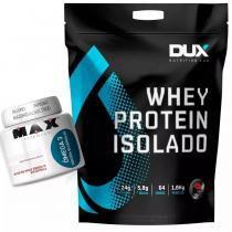 Whey Isolado Dux Nutrition 1,8kg + Ômega 3 - Dux nutrition l