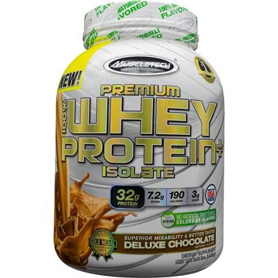 Premium 100%Whey Protein Plus Isolate1,36kg chocolate Muscle